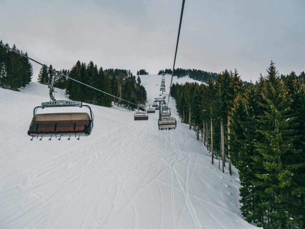 allgäu bayern steibis oberstaufen skigebiet ski-fahren winter lift schnee imbergbahn