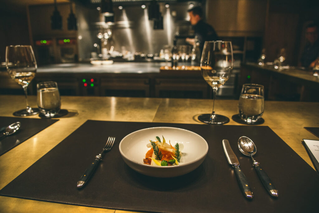 vorarlberg lech zürs lechweg erste-etappe hotel rote-wand chefs-table