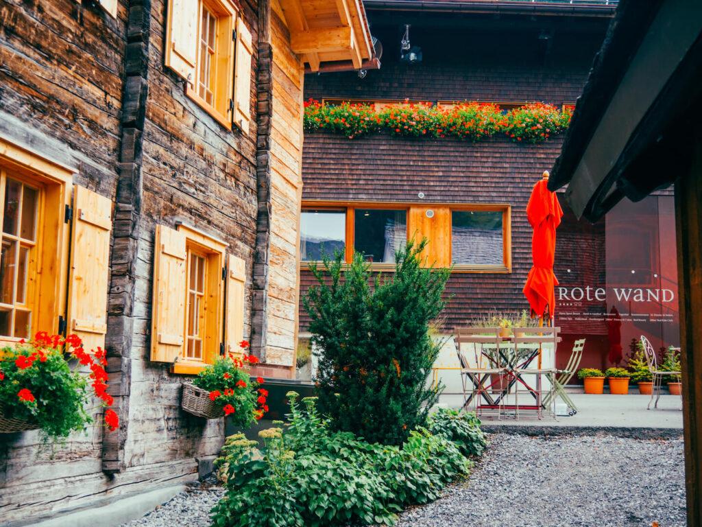 vorarlberg lech zürs lechweg erste-etappe rote-wand hotel