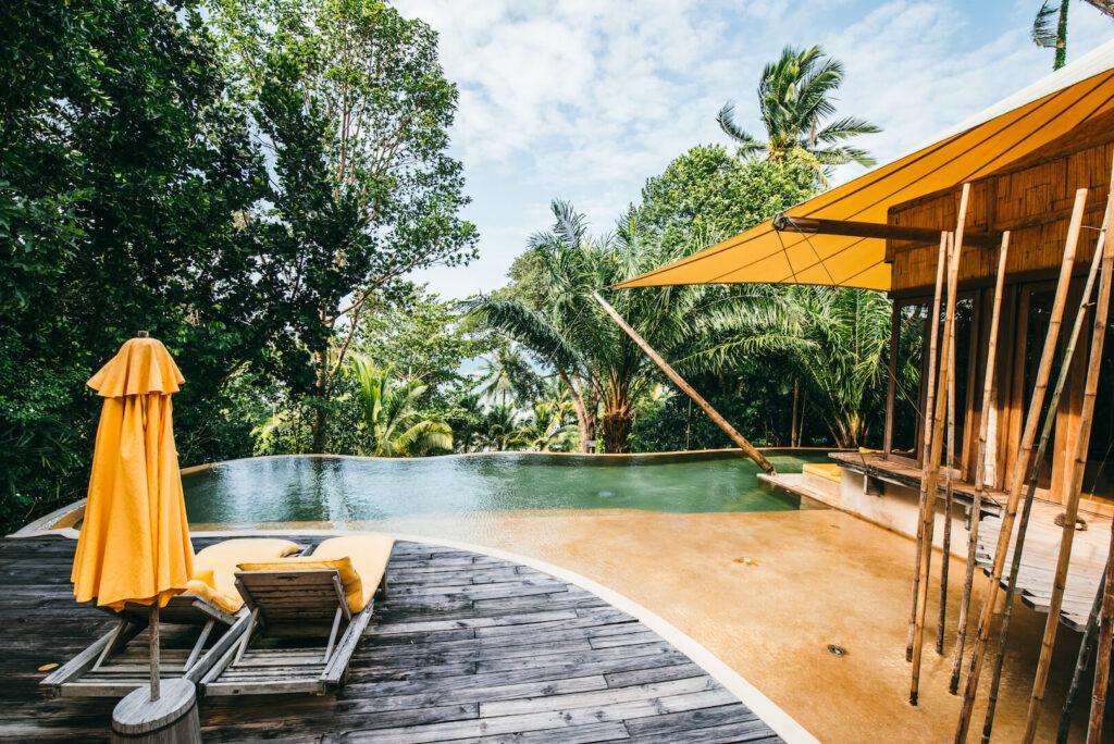 thailand koh-kood soneva-kiri palme hotel pool bungalow