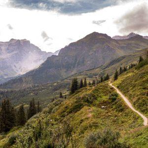 montafon vorarlberg alpkultour gauertal hiking man