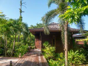thailand koh-chang insel hütte palme hotel