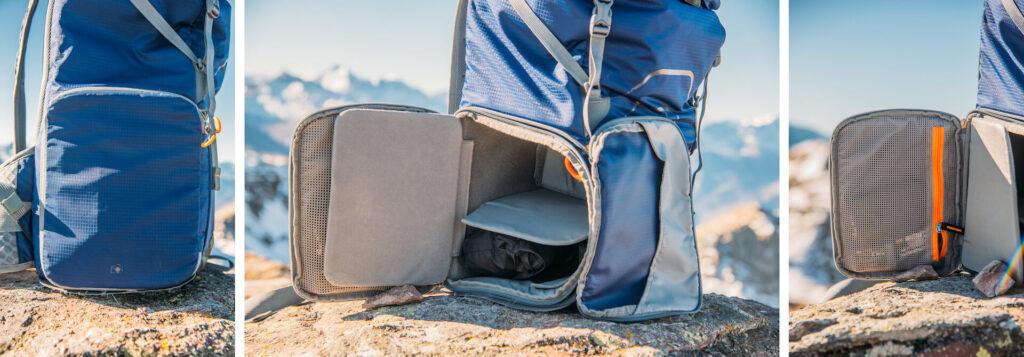 MindShift UltraLight Dual 36L camera-bag day-pack camera-compartment