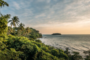 thailand koh-kood soneva-kiri hotel palme sonnenuntergang meer insel