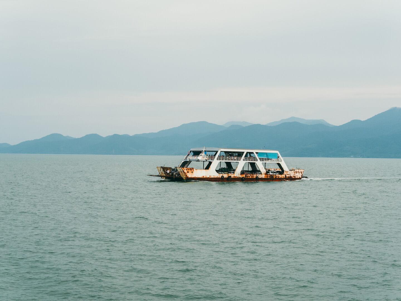 thailand bangkok sea koh-chang ferry water island