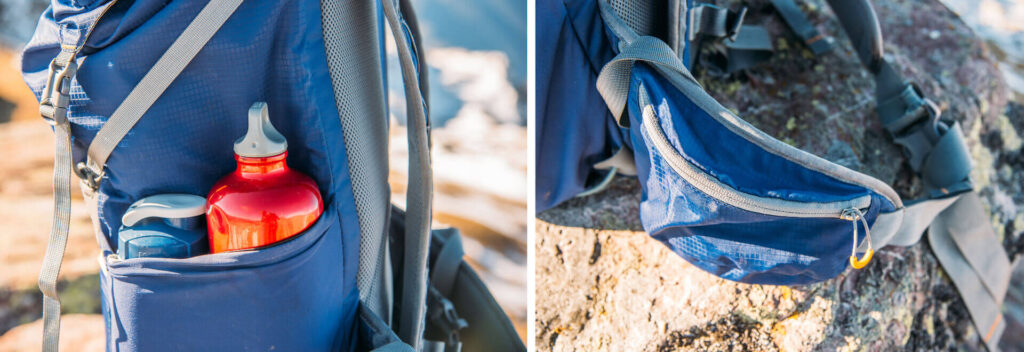 MindShift UltraLight Dual 36L camera-bag day-pack camera-compartment bottle