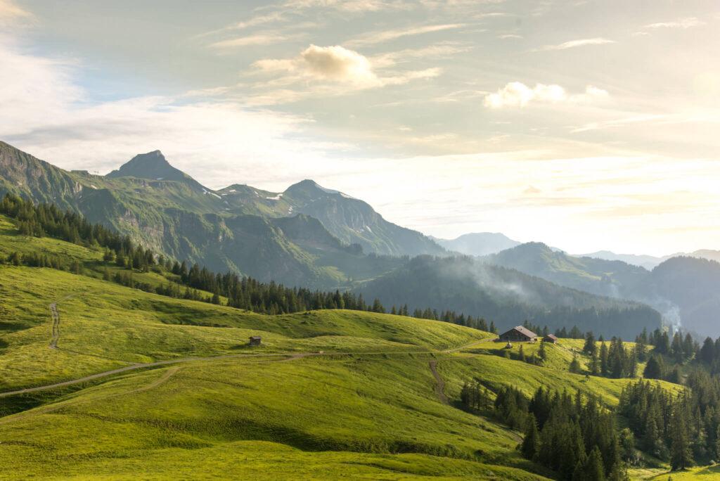 vorarlberg bregenzerwald kanisfluh wandern berg alm