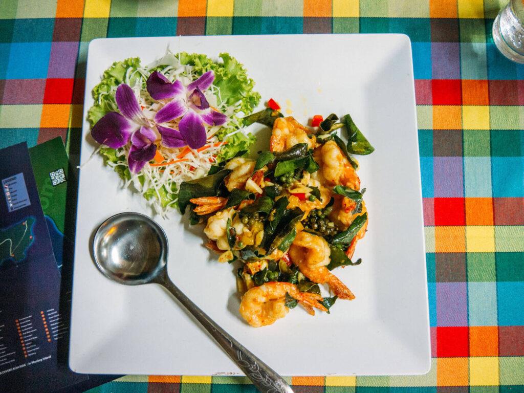 thailand koh-chang island village food thai-food