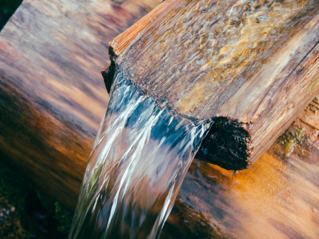 vorarlberg lech zürs lechweg erste-etappe wandern wasser