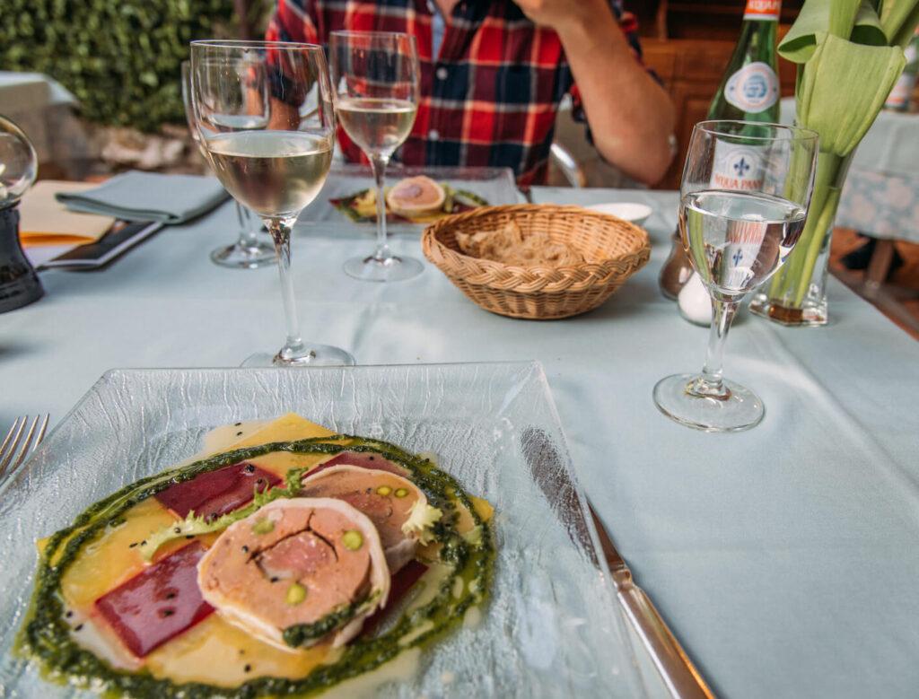 switzerland ticino ascona romantic-hotel castello wine-tasting wine diner