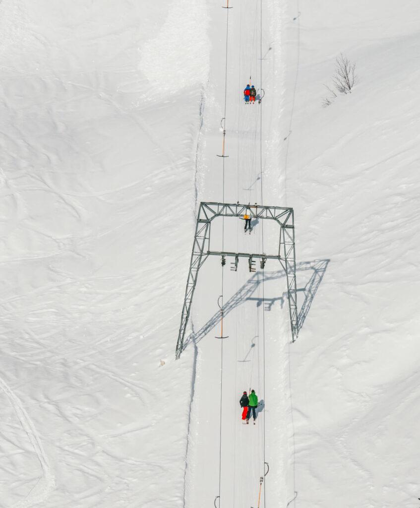 vorarlberg diedamskopf bregenzerwald skiing winter snow lift