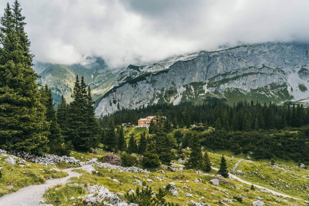 Vorarlberg montafon gauertaler-alpkultourweg lindauer-hütte gauertal wandern