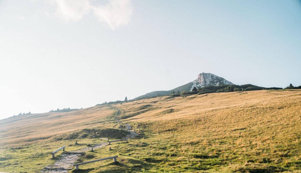 südtirol dolomiten eggental berge wandern sonnenuntergang weißhorn