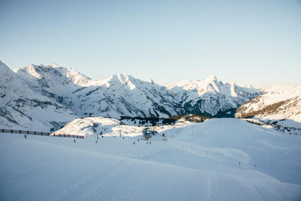 vorarlberg warth-schröcken warth schröcken ski-arlberg skiing snow winter mountain