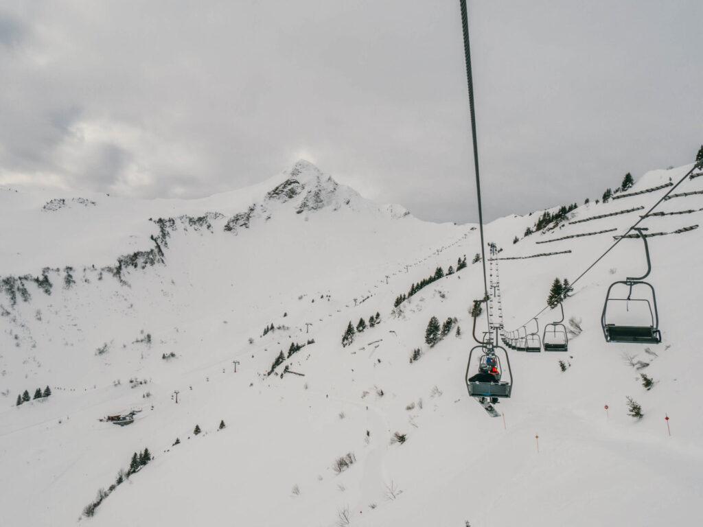 vorarlberg großes-walsertal faschina skigebiet ski-fahren winter schnee lift