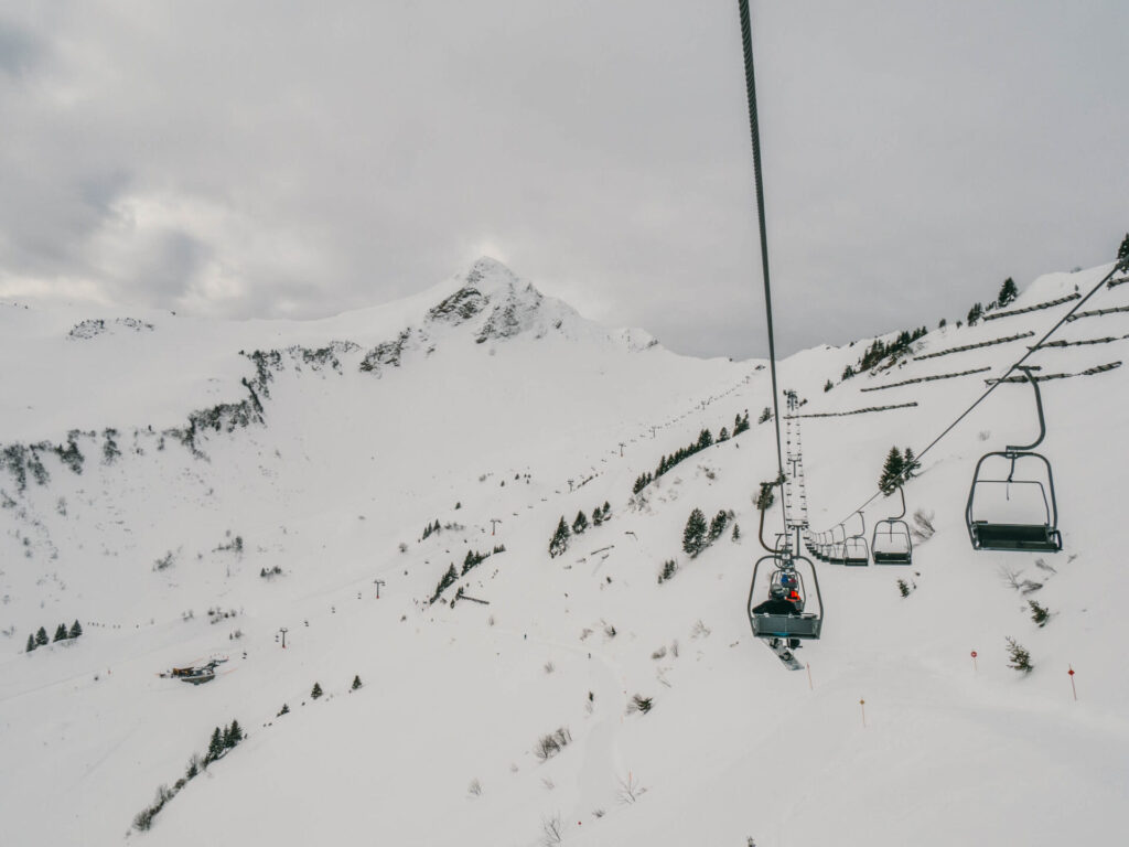 vorarlberg grosses-walsertal faschina skiing winter mountain snow lift