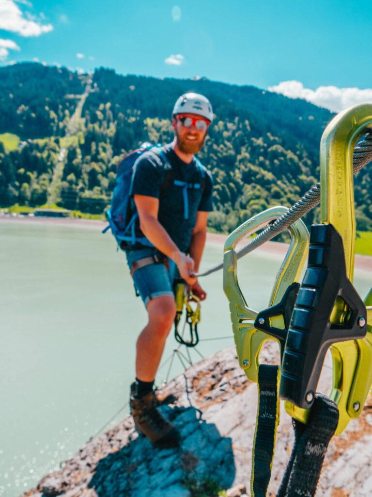 vorarlberg montafon latschau klettersteigkurs klettersteig golm mann