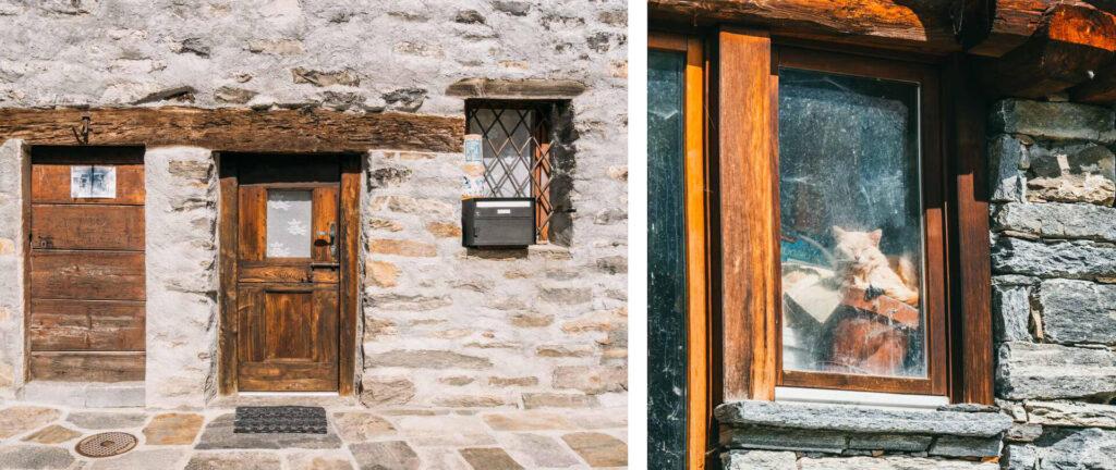 switzerland ticino verzasca-valley sonogno house door