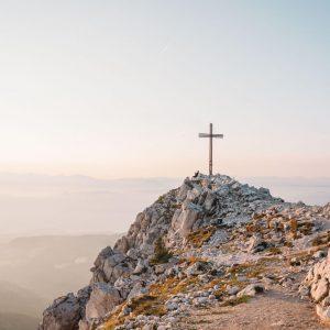 south-tyrol dolomiten weißhorn eggental peak cors sunset
