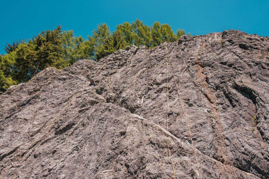 vorarlberg montafon latschau klettersteigkurs klettersteig golm klettern felsen
