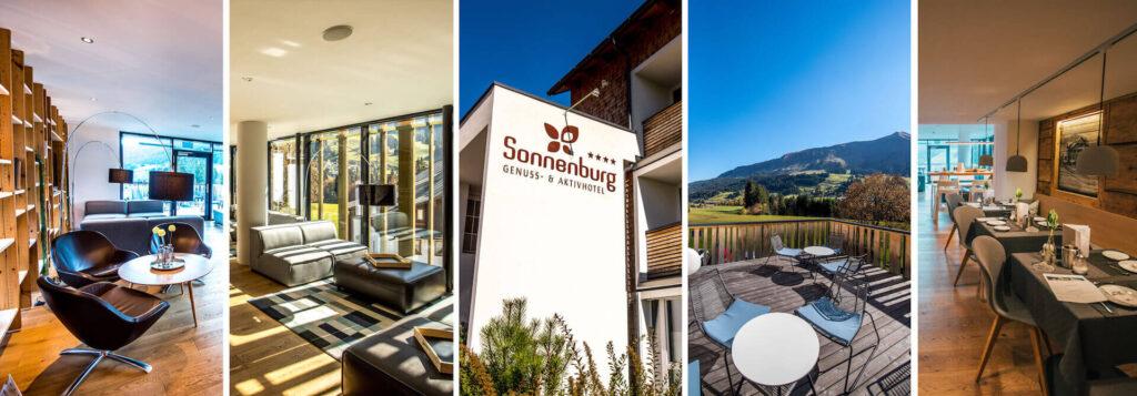 vorarlberg kleinwalsertal sonnenburg hotel hiking holiday