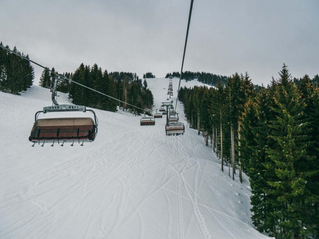 allgäu bayern steibis imbergbahn oberstaufen skigebiet ski-fahren lift winter schnee