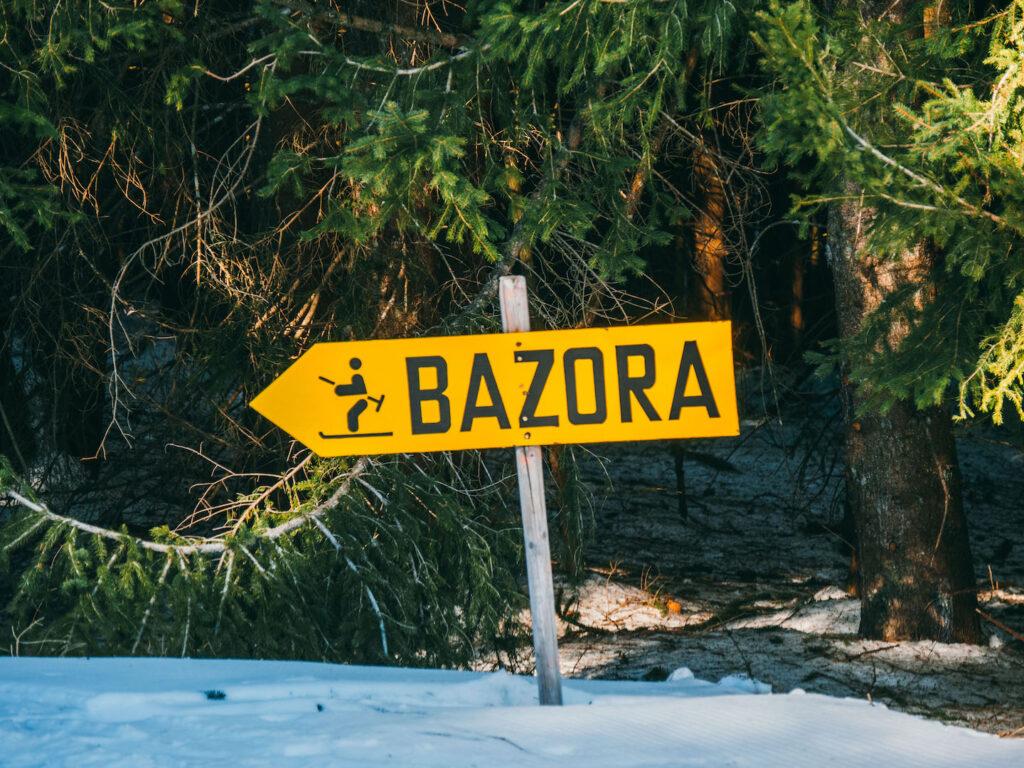 vorarlberg rheintal frastanz ski-fahren winter schnee berge himmel hütte piste bazora