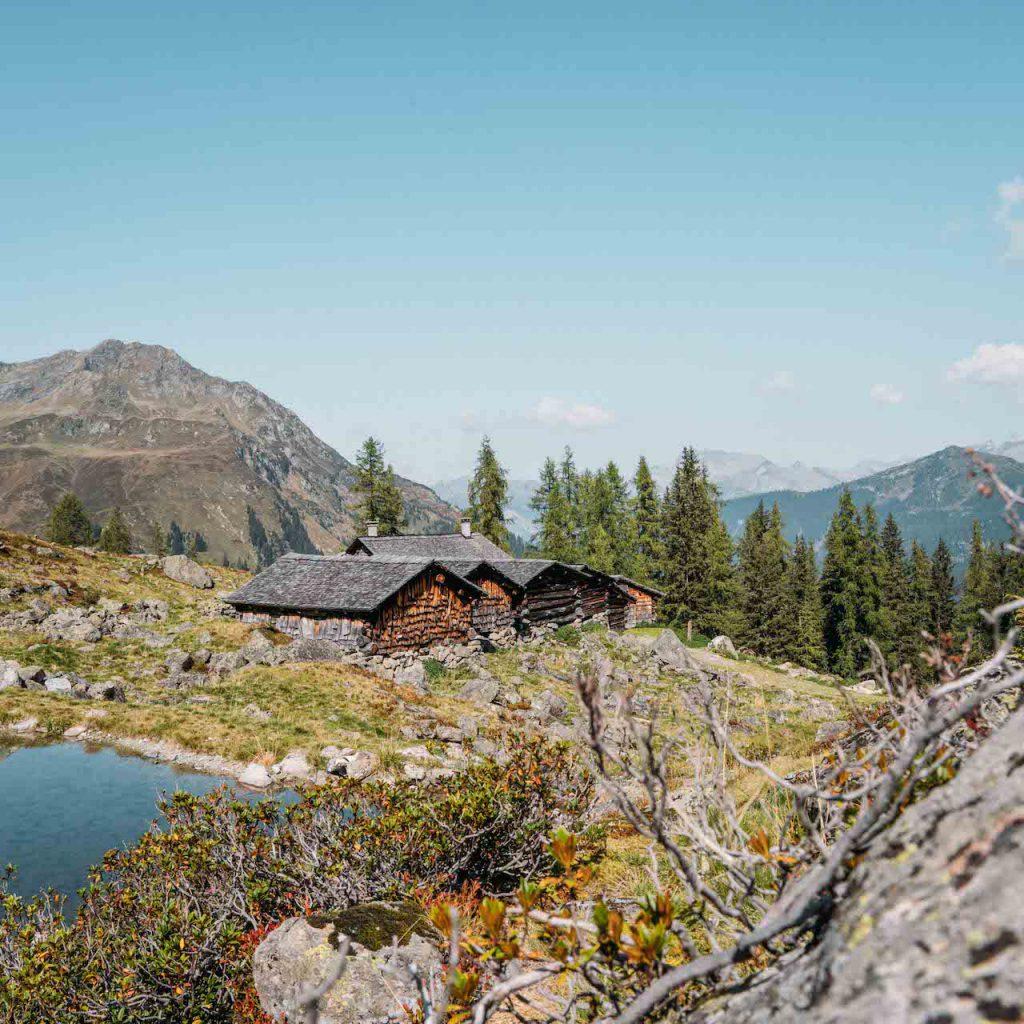 vorarlberg montafon berge aplguesalpe grasjochhütte rundwanderung alp alm