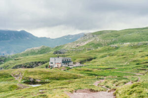 heidiland flumserberg spitzmeilenhütte wandern berge hütte