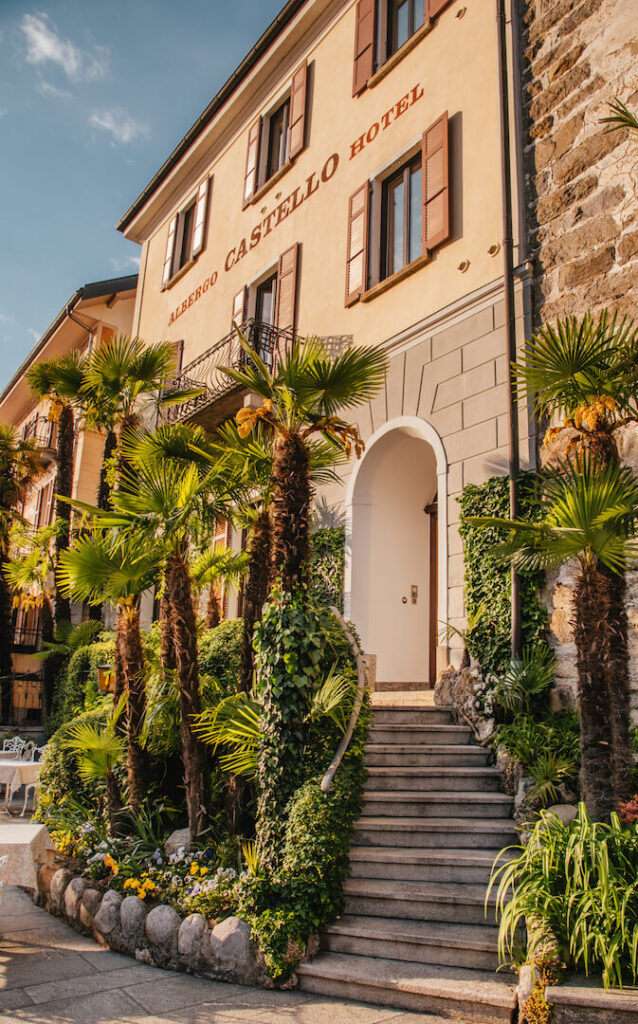 switzerland ticino ascona romantic-hotel castello palm-tree