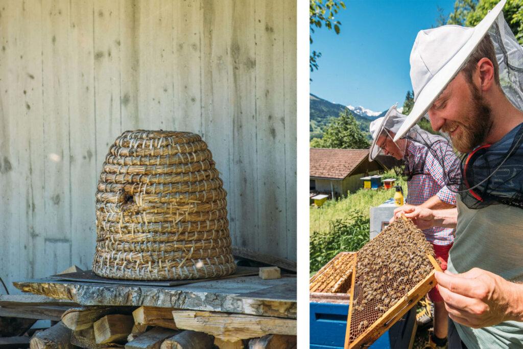 vorarlberg montafon bartholomäberg hiking bees schruns beekeeper