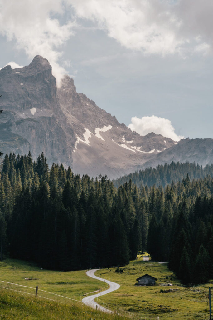 vorarlberg montafon gauertaler-alpkultourweg lindauer-hütte mann gauertal berge