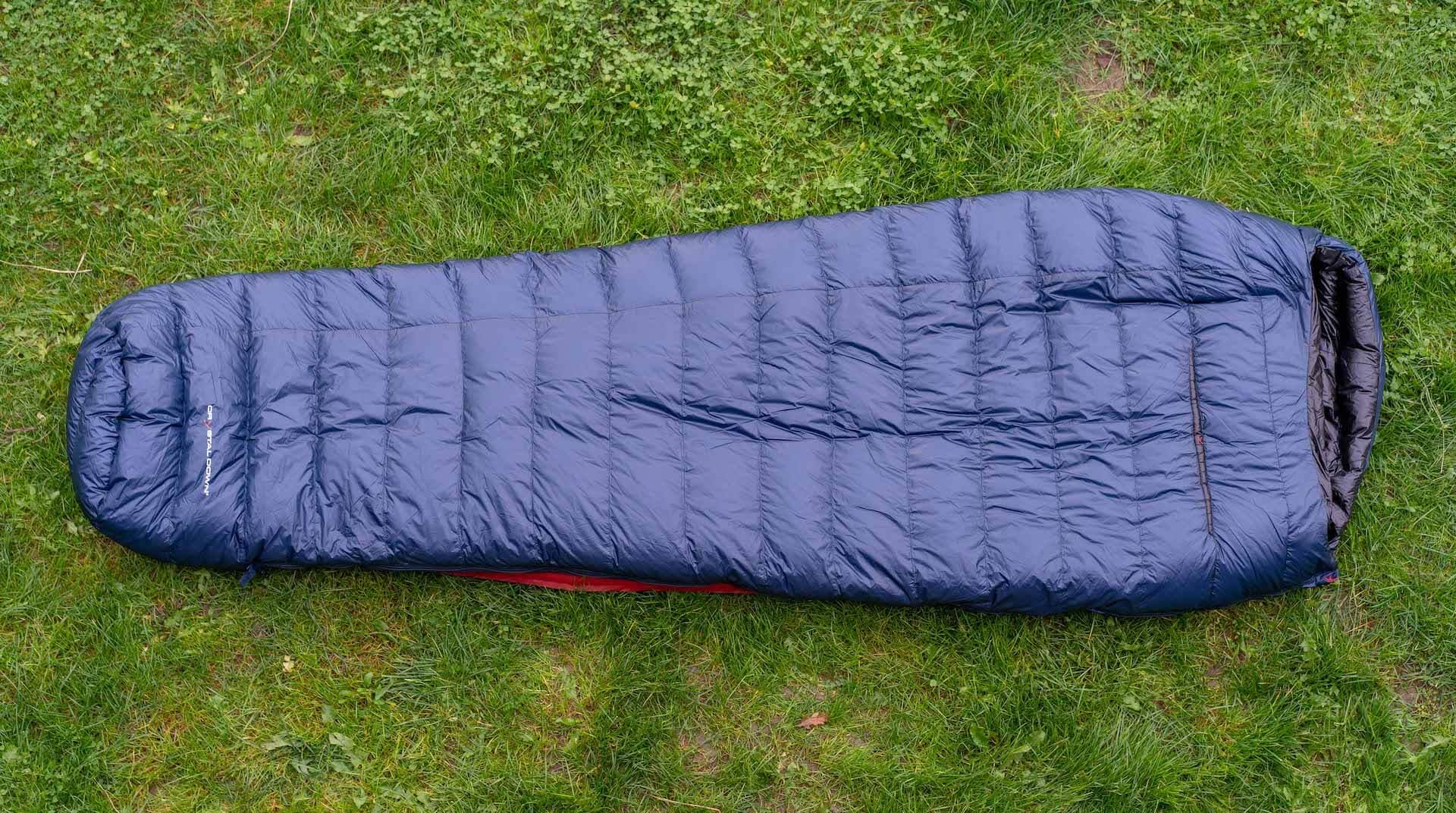 nordisk yeti passion-five schlafsacktest gear-review sleeping-bag gesamtansicht