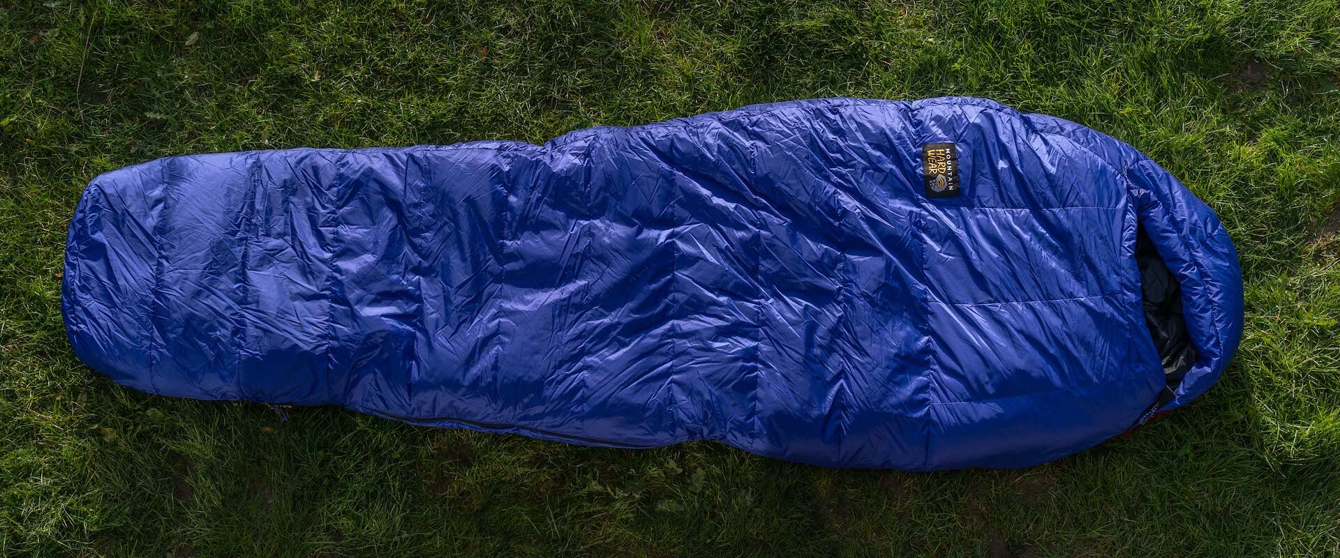 Mountain-Hardwear Rock-15F/-9C schlafsacktest gear-review sleeping-bag gesamtansicht