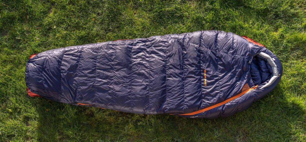 mammut sphere-down-3-season schlaftsacktest gear-review sleeping bag blau