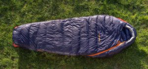mammut sphere-down-3-season schlaftsacktest gear-review sleeping bag blau