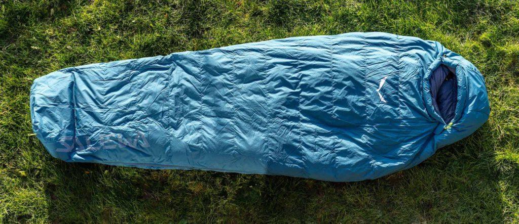 salewa diadem-warm schlafsacktest sleeping-bag-review gesamtansicht