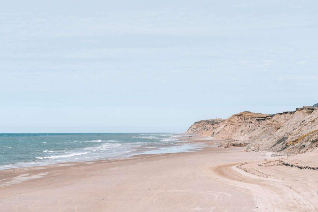 dänemark küste meer düne nordsee rubjerg-knud leuchtturm steilküste wandern