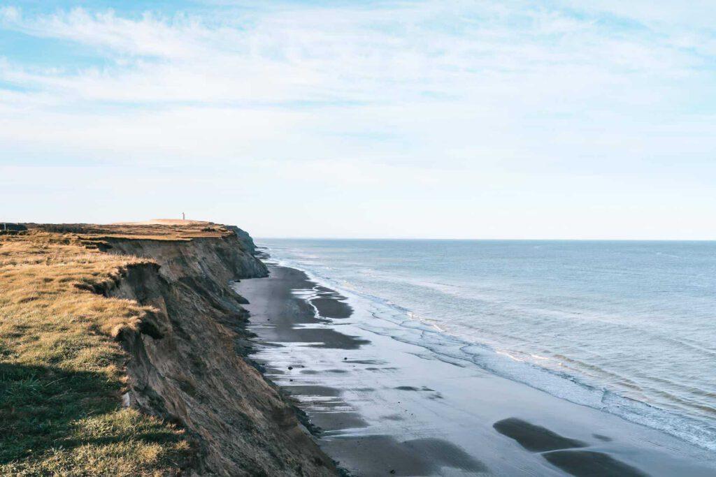 dänemark sand küste meer nordsee rubjerg-knud leuchtturm wandern steilküste