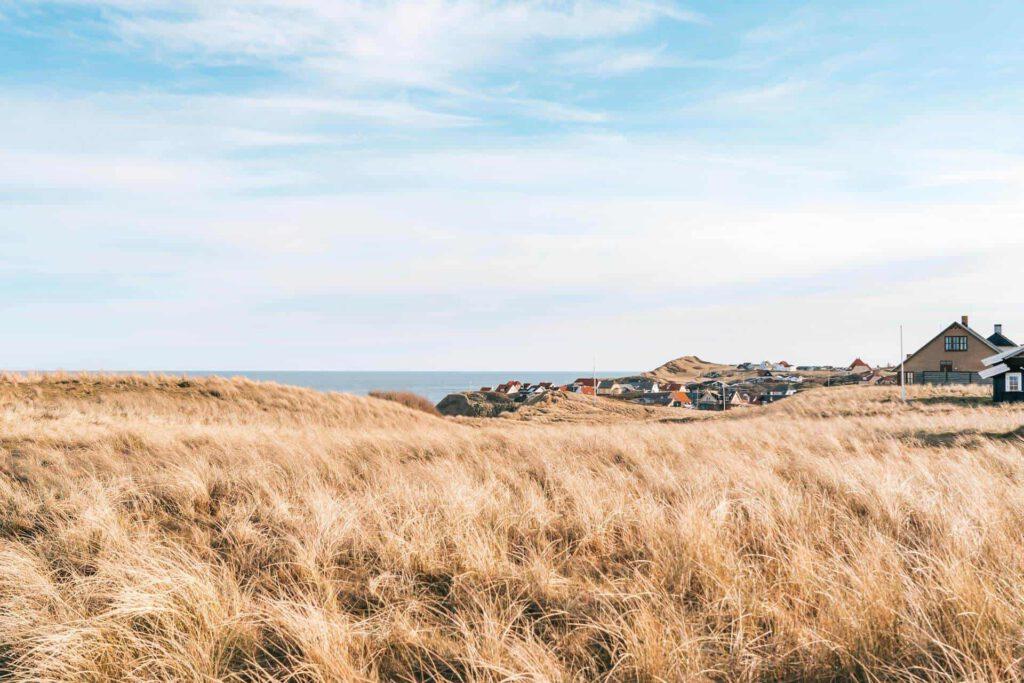 dänemark küste meer nordsee rubjerg-knud leuchtturm wandern ort