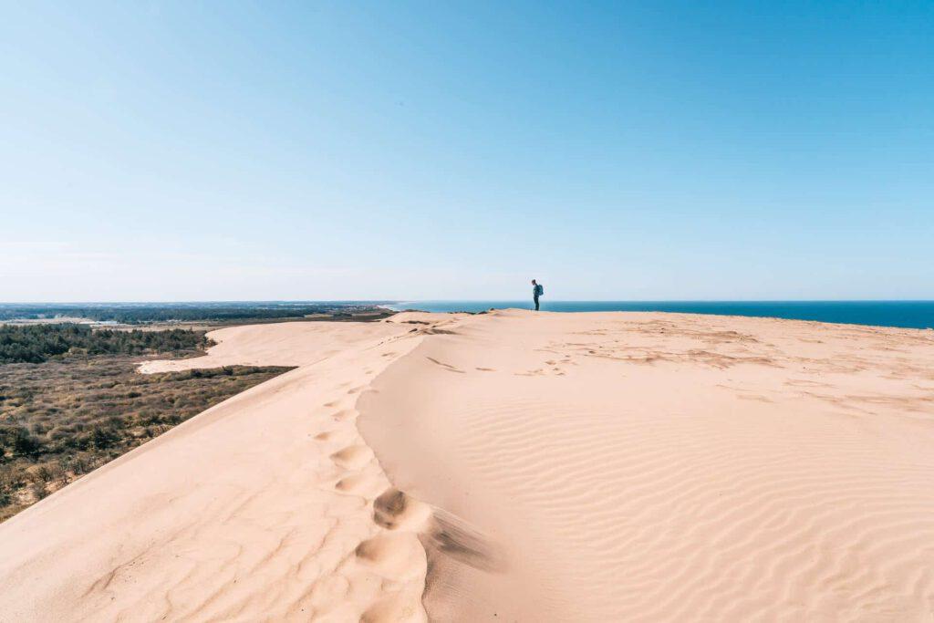 dänemark küste meer nordsee wandern rubjerg-knud leuchtturm steilküste düne