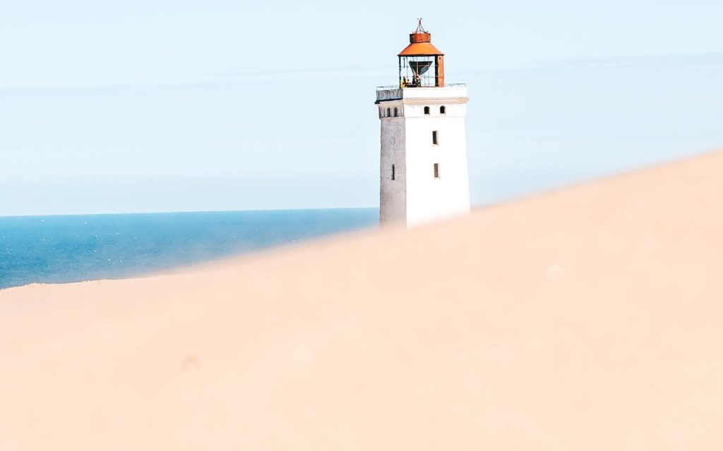 dänemark rubjerg-knud leuchtturm nordsee düne sand
