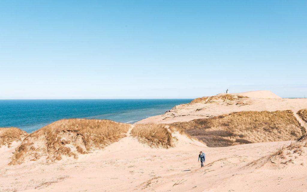 dänemark rubjerg-knud leuchtturm nordsee düne sand mann wandern